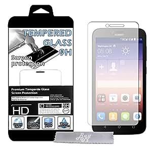 Film Protecteur d'écran en VERRE TREMPE pour Huawei Y625 Ultra Transparent Ultra Résistant INRAYABLE INVISIBLE