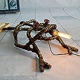 Nome: lampada da tavoloMarca: AiehuaAltezza totale della lampada: 26 cmDiametro della lampada: 85 cmMateriale del corpo leggero: ferroMateriale ombra: ferroTipo di sorgente luminosa: E27Tensione: 110V-220VLampadina inclusa: non inclusaWattaggio adatt...