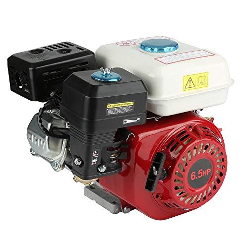 Zoternen 6,5 HP Motore a Benzina, Pull Start, 1 Cilindro, 20 mm Albero, Motore a Scoppio 4 Tempi, 196cc 3.6L