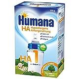 Humana HA 1 Hypoallergene Anfangsnahrung, 1er Pack (1 x 500 g)