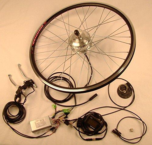 xGerman Nachrüstsatz 250W VR-Antrieb mit LCD-Display, ohne Akku, Fahrradgröße:28 Zoll Rad