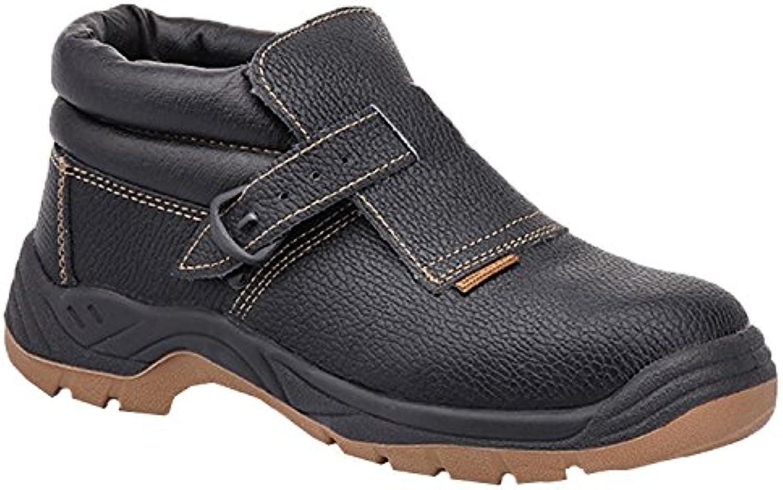 Paredes sm5038 NE41 Welder – Zapatos de seguridad S3 talla 41 NEGRO/MARRÓN
