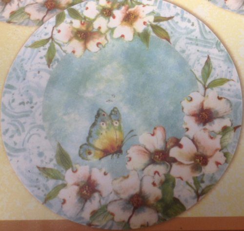 susan-winget-assiettes-printemps-social-lot-de-4-assiettes-motif-papillon