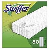 Swiffer droge vloerdoekjes, navulverpakking Standaard 80 Stück (1er Pack) Swiffer vloerwissers, navulverpakking 80 stuks