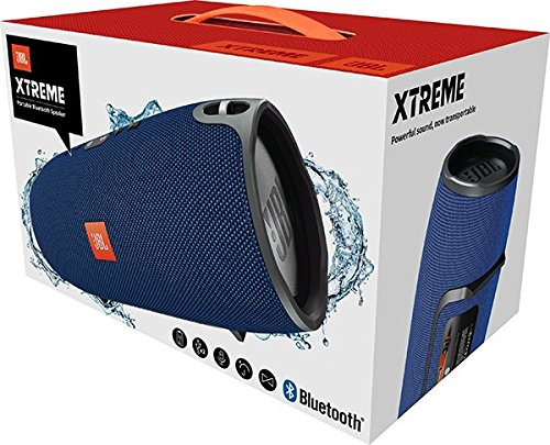 JBL Xtreme Sistema Audio Portatile, Splashproof, Bluetooth, Wireless, Blu - 8