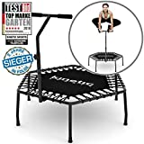 morocca Kinetic Sports Mini-Trampolin Fitness Hexagon Sechseckig mit Griff Indoor