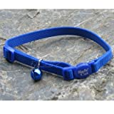 Coastal Pet Cat Adj.Breakaway Safety Collar Blue (Catalog Category: Cat / Cat Collars Leads)