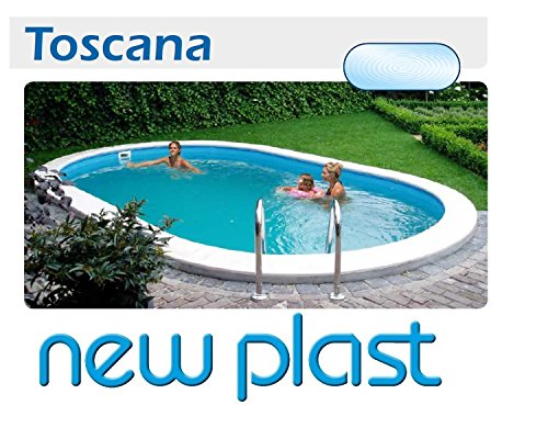 Piscina interrata ovale kit toscana 600 / h 150