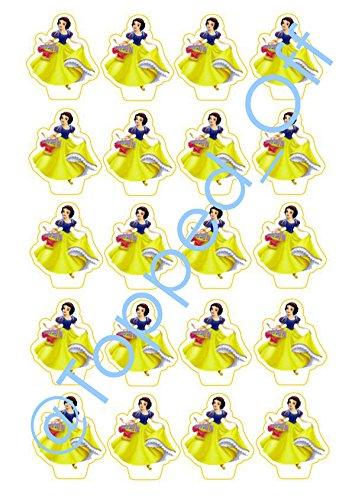 are Kuchen-Deckel Dekorationen (Snow White Böse Königin Disney)