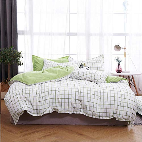 SHJIA Bettwäsche Set Bettbezug Baumwolle Quilt Königin Volle Twin König Größe Studenten R 220x240cm -