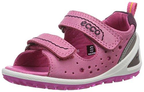 Ecco LiteInfants, Baby Mädchen Lauflernschuhe, Pink (SandalFandango/Burgundy F/58955), 20 EU