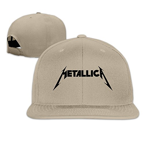 hittings-metallica-wordmark-hip-pop-custom-unisex-adjustable-baseball-snapback-hip-hop-cap-hat-white