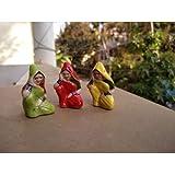 Sekshavali Trading Corporation Village Womans Minieature For Garden Bonsai/Planter Decoration, Miniature Garden Accessories, Kids Room Décor, Garden Decor,Fairy Garden