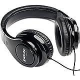 Shure SRH240A, geschlossener Kopfhörer / Over-ear, schwarz, geräuschunterdrückend, druckvolle Bässe und detaillierte Höhen