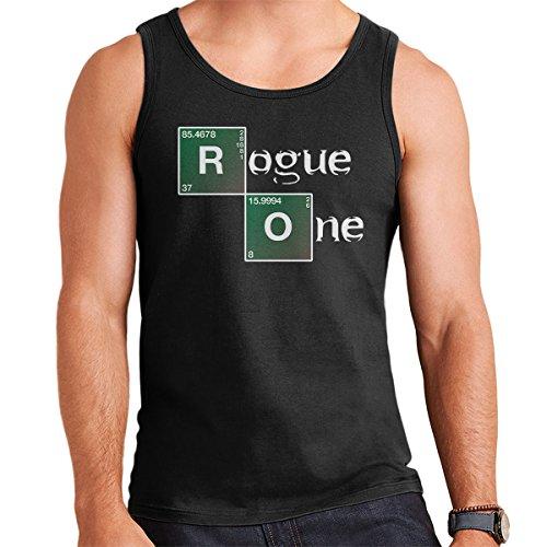 Star Wars Rogue One Breaking Bad Logo Men's Vest Black