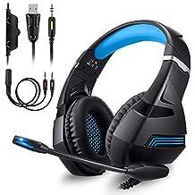 Amazon.it  cuffie gaming per ps4 f2b8fc4e5924