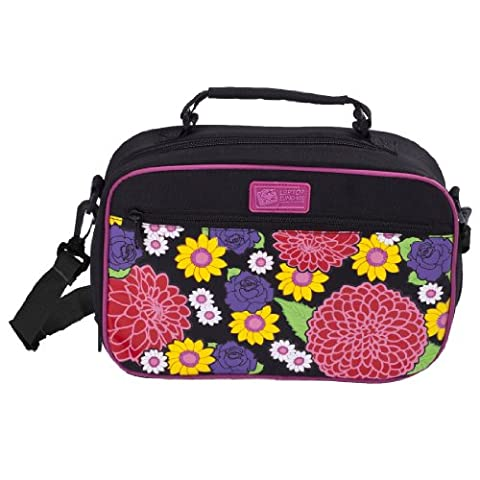 Insulated On the Go Lunch Carrier, Dahlia. Perfect fit for the Laptop Lunches Bento Box. by Laptop Lunches Bento-ware