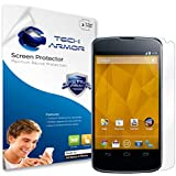 Tech Armor Premium High Definition Screen Protector for Google Nexus 4 - Clear (Pack of 3)