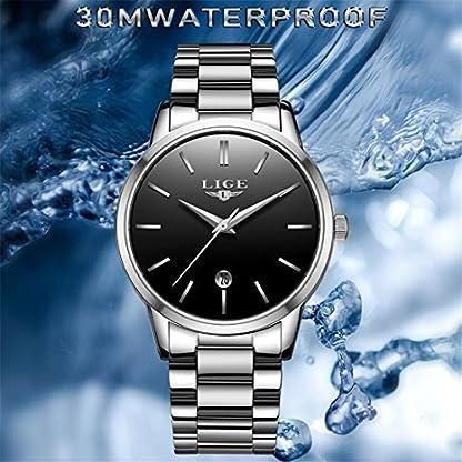 Herren-Uhren-Casual-einfache-Modell-Classic-Luxus-Wasserdicht-Swag-Herren-Stahl-Quarz-Uhren