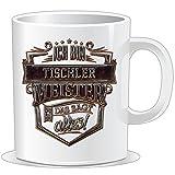 getshirts - RAHMENLOS® Geschenke - Tasse - Ich bin Tischler Meister - Steel Collection - uni uni