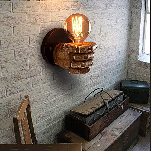 Lxc Warm Vintage Faust Harz Wandleuchte Industrielle Wind Sushi Bar Bar Restaurant Cafe Dekoration Antike Wandleuchte Beleuchten Sie Ihr Zuhause Sushi Glas