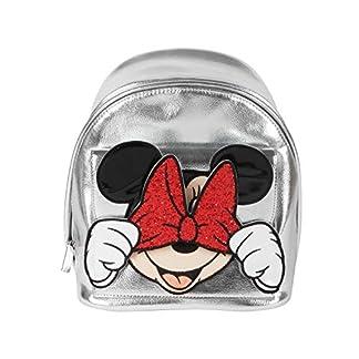 512FMGDDIHL. SS324  - Danielle Nicole Mini Mochila Plateada Minnie Mouse