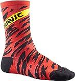Mavic Deemax Pro High Fahrrad Socken rot/schwarz 2018: Größe: L (43 46)