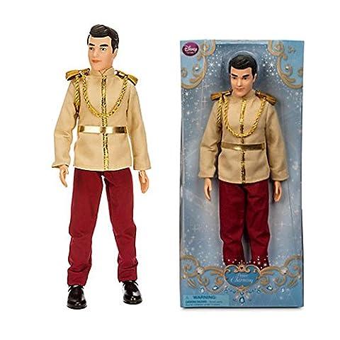 Offizielle Disney Cinderella 30cm Prince Charming Klassische Figur Puppe (Posable Figur Puppe)