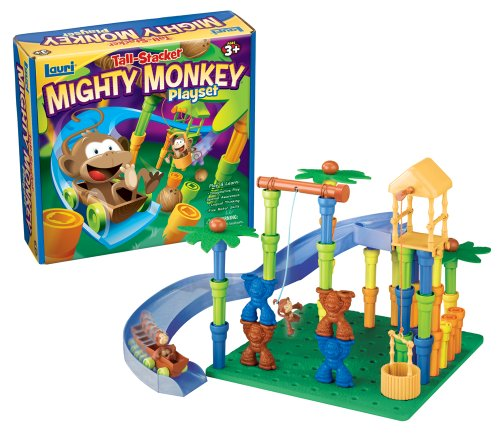 Patch Products Inc. Lauri Tall Stacker Mighty Monkey Playset