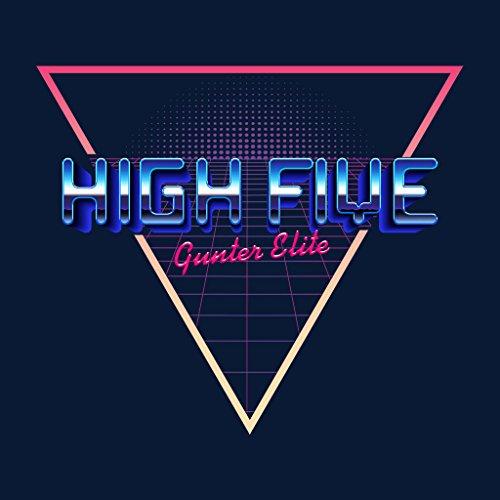 Cloud City 7 High Five Gunter Elite Ready Player One Women's T-Shirt Navy blue