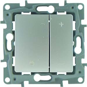 Legrand LEG96668 Interrupteur variateur argent Niloe