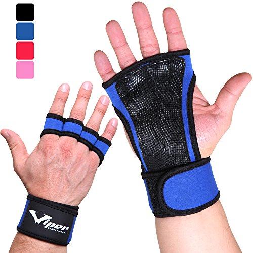 Gants Crossfit Manique de Musculation - Protège...