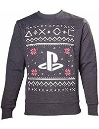Import Europe-Pull Noël Playstation, Taille XL [Importación Francesa]