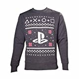 Playstation Pullover -S- Christmas, schwarz
