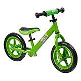 boppi Metal No Pedal BMX Balance Bike 2, 3, 4, 5yrs Green