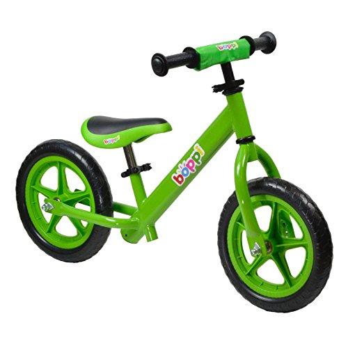 Lauflernrad aus Metall von boppi® (2-5 Jahre) - Grün