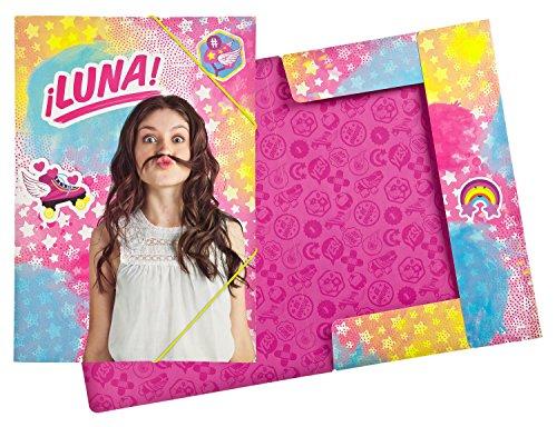 Undercover SORN7804 - Handtasche, Disney Soy Luna, ca. 33 x 23 x 10 cm Gummizugmappe A3