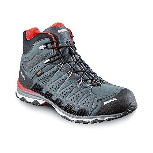 Scarpe MEINDL X-So 70 Mid GTX Surround Men - antracite/blu, Rosso/antracite
