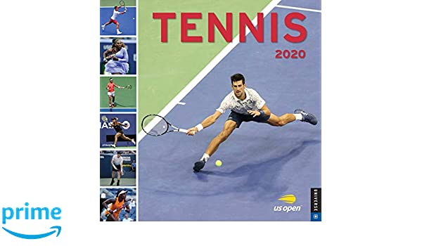 Maria Sharapova Calendario 2020.Amazon It Tennis 2020 Calendar Us Open Universe