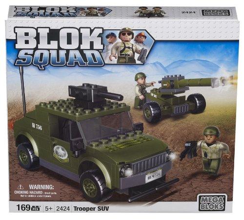 Mega Bloks 02424U Blok Squad - Juego construcción