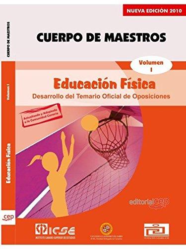 Cuerpo de Maestros. Educación Física. Temario Vol. I.  Edición para Canarias (Colección 1339) por Sin datos