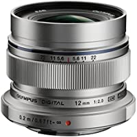 Olympus M.ZUIKO DIGITAL ED 12 mm 1:2.0 Lens - Silver