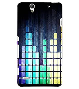 SONY XPERIA C4 BARS Back Cover by PRINTSWAG