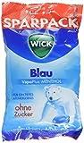 WICK Blau Hustenbonbons ohne Zucker – ein tiefes Atemerlebnis dank Menthol und natürlichem Avensis Minz-Aroma - 12er Pack (12 x 115 g)