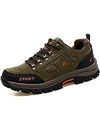 HENGJIA Herren Outerdoor Sportschuhe Sneaker Bergschuhe Rekking- und Wanderschuhe Schnürhalbschuhe