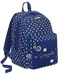 ec51d51bec Zaino Scuola Seven Big Plus Camomilla Camomilla Flower&Dots Blù