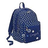 Zaino Scuola Seven Big Plus Camomilla Camomilla Flower&Dots Blù