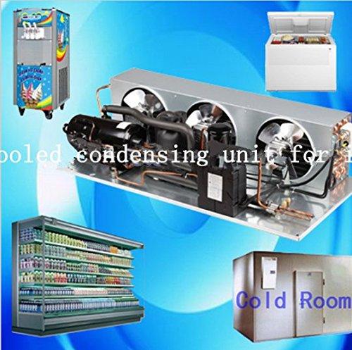 Preisvergleich Produktbild Gowe Air Cooled Brennwertgeräte Einheit für Ice creamcold Zimmer Kompressor für Fleisch Obst Meeresfrüchte Frischhalten