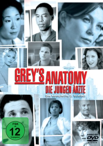 Grey's Anatomy: Die jungen Ärzte - Die komplette 2. Staffel [8 DVDs] (Dvd Heigl-filme Katherine)