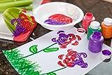 Crayola Washable Kids Paint (Set of 10), Multicolor